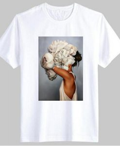Sexy Flowers Feather t-shirt