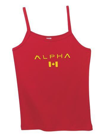 alpha american strap tanktop