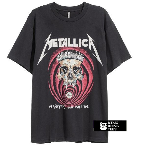 Metallica In Vertigo t shirt