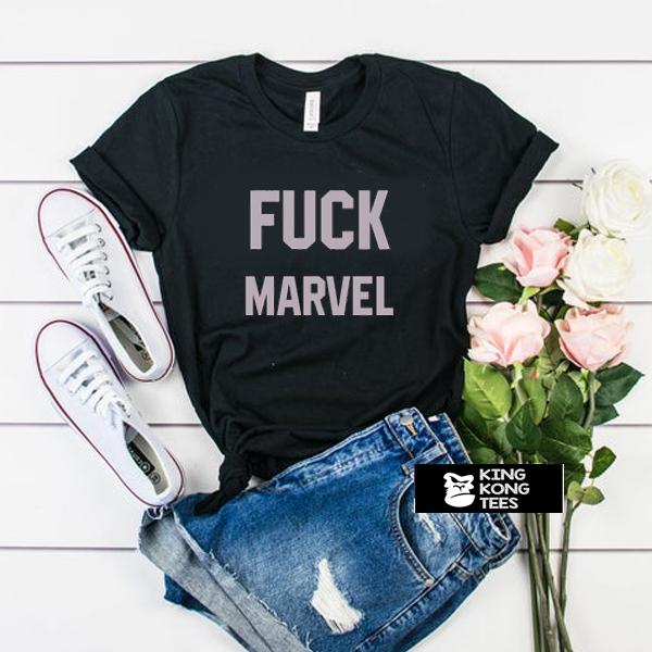 Fuck Marvel t shirt