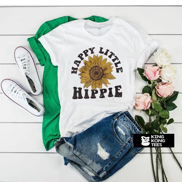 Happy Little Hippie t shirt