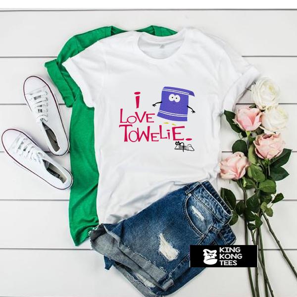 I Love-Towelie t shirt