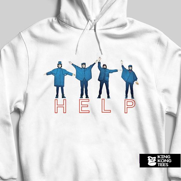 The Beatles Help hoodie