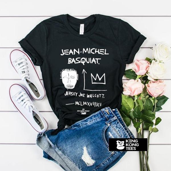 Jean Michel Basquiat Jersey Joe Walcott t shirt