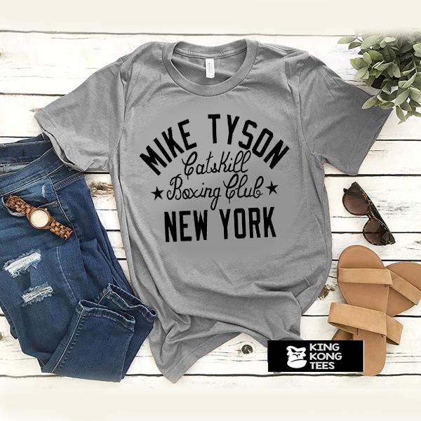 Mike Tyson boxing club t shirt