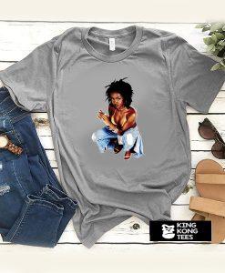 Lauryn Hill Fugees Cutout 90s Hip Hop t shirt