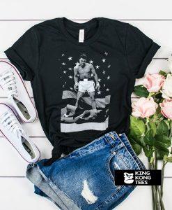 Muhammad Ali Standing t shirt