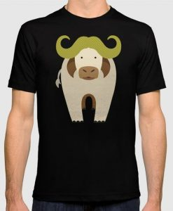 Whimsy Cape Buffalo Graphic T-shirt